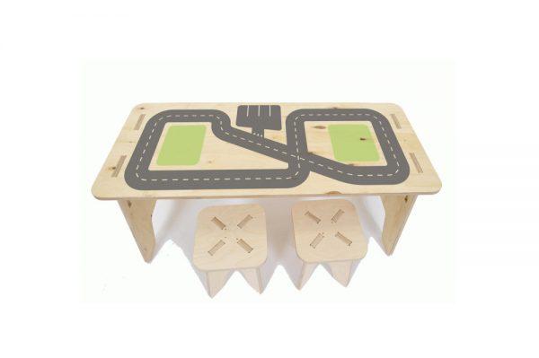 Kinderspeeltafel met leuke print