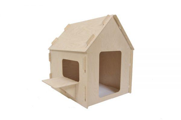 Kinderspeelhuisje basis van hout